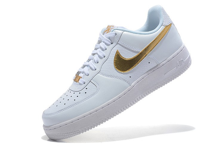 nike air force 1 femme or