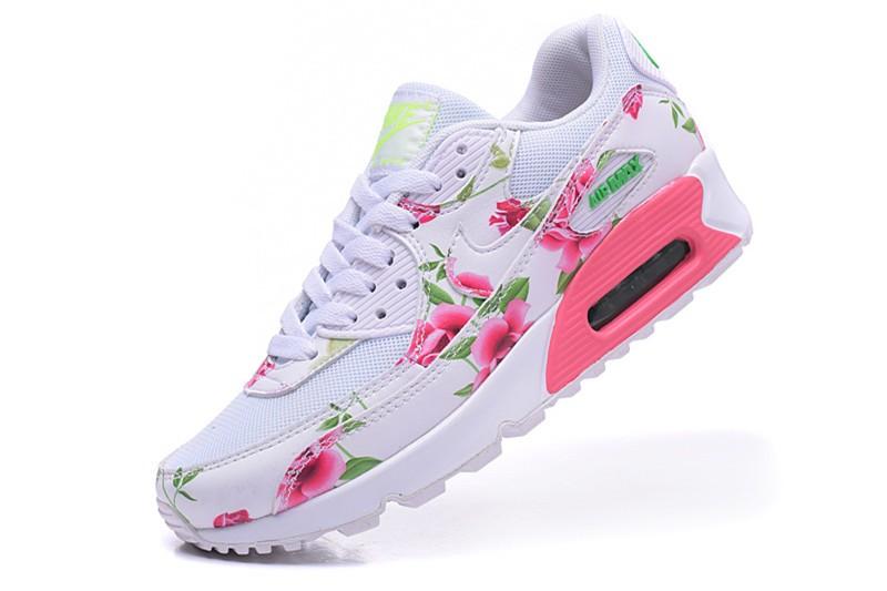 air max femme a fleurs