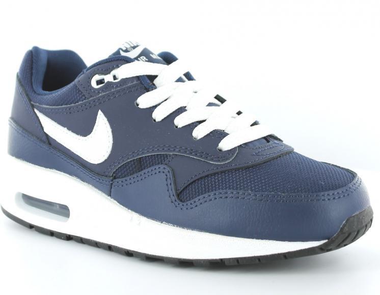 nike air max 1 junior bleue et blanche