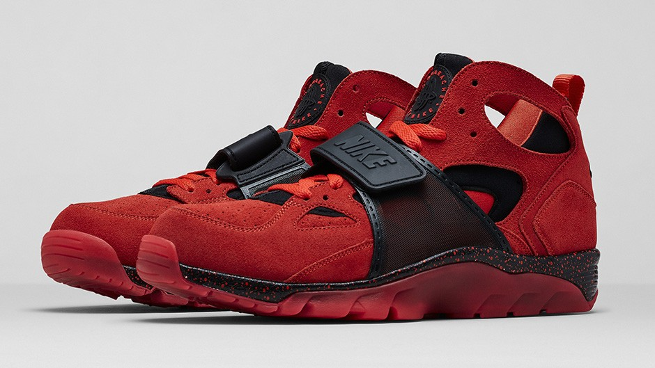 Nike trainer rouge