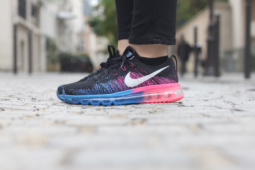 nike flyknit air max rose